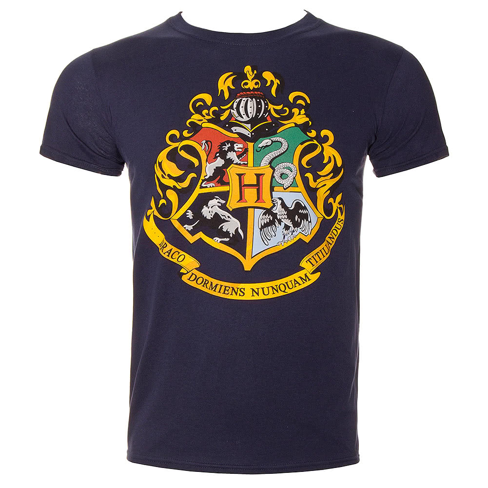 Harry Potter Hogwarts T Shirt (Blue)