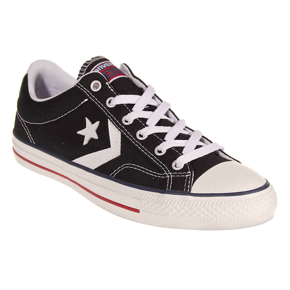 Converse Cons Star Player Shoes (Black)