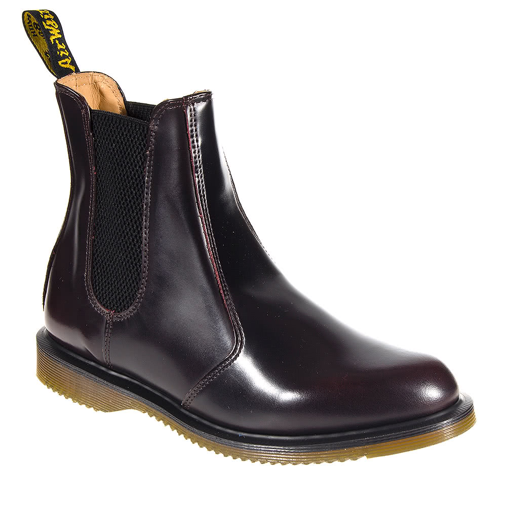 dr doc martens chelsea flora boots damenstiefelette leder. Black Bedroom Furniture Sets. Home Design Ideas
