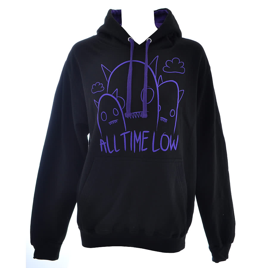 All Time Low Ghostline Hoodie (Black)