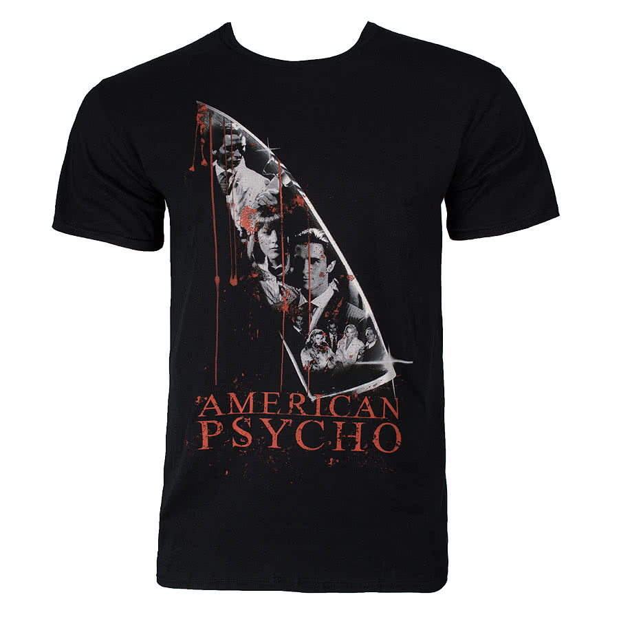 American Psycho Knife T Shirt (Black)