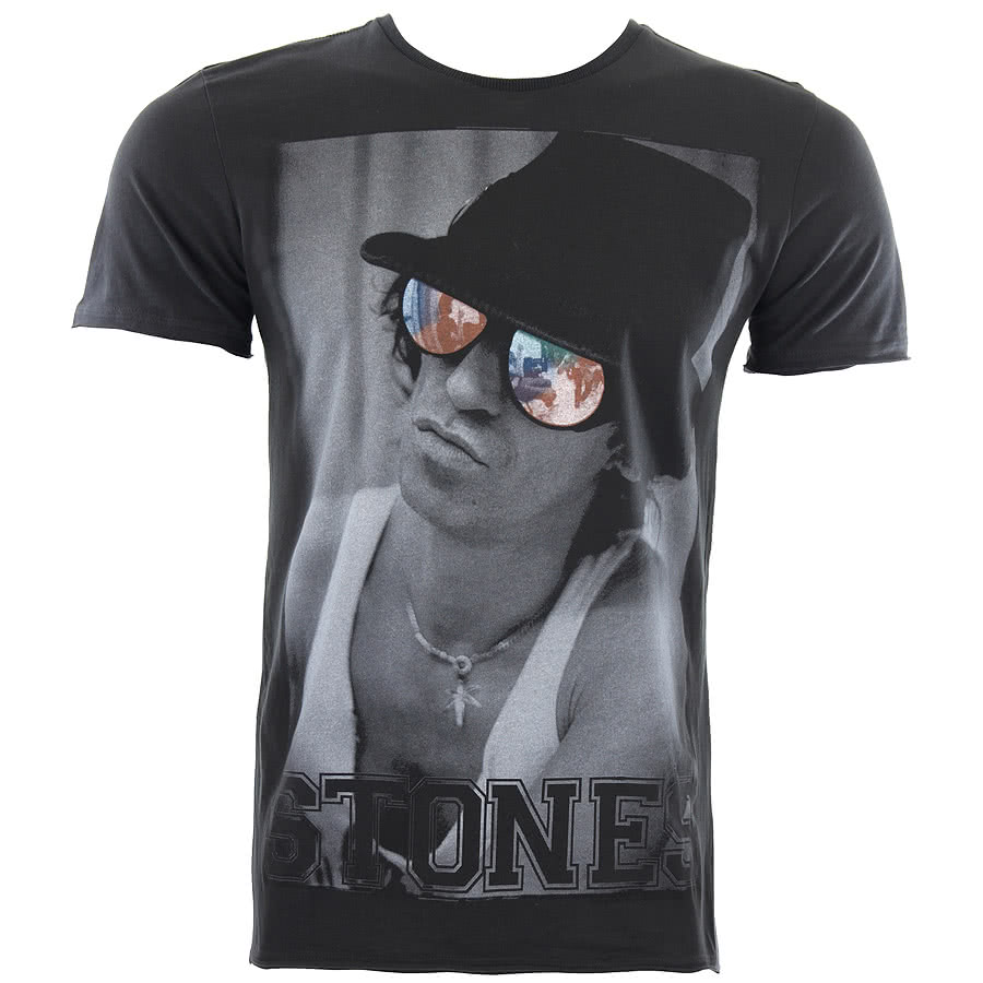 Amplified Stones Out Of Control T Shirt (Charcoal)