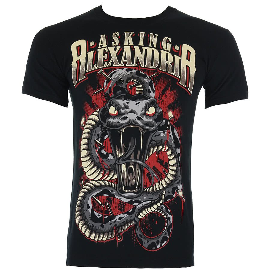EXCLUSIVE! Asking Alexandria Poison T Shirt (Black)