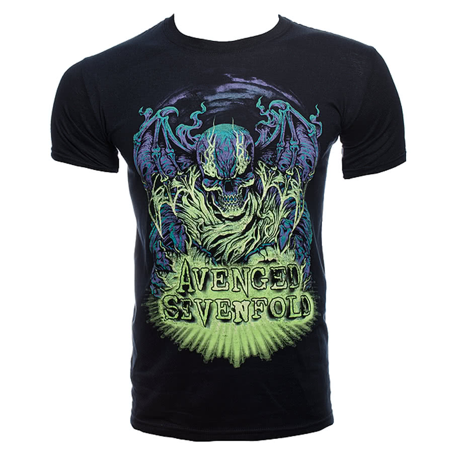 Avenged Sevenfold Dare to Die T Shirt (Black)
