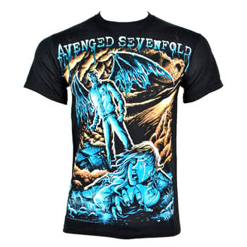 Avenged Sevenfold Going Nowhere T Shirt (Black)