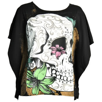 Banned Muerte Top (Black)