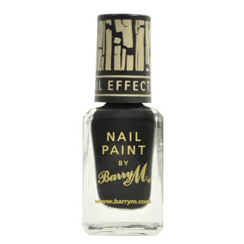 Barry M Instant Effects Crackle Nail Polish (Black)