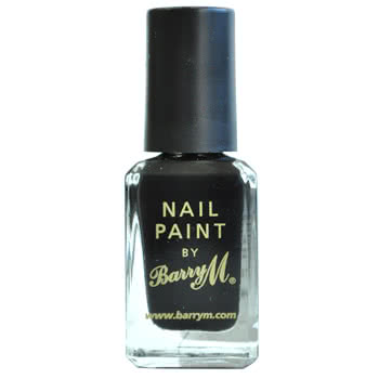 Barry M No 47 Nail Paint (Black)