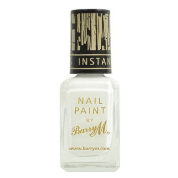Barry M Instant Effects Crackle Nail Polish (White)
