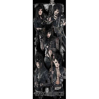 Black Veil Brides Door Poster