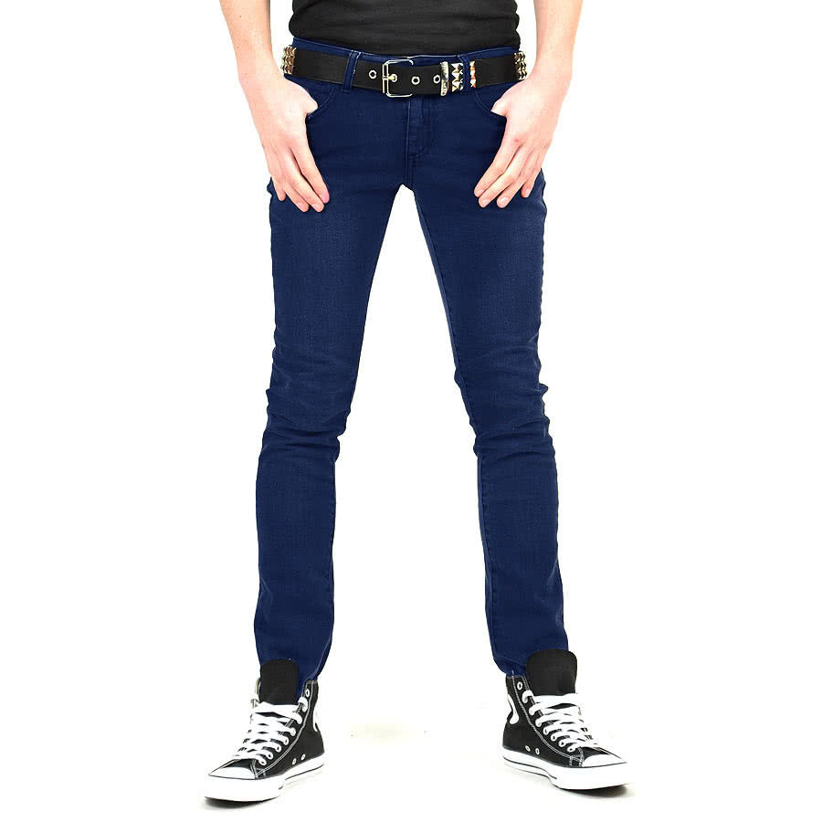 Bleeding Heart Stonewash Jeans (Blue)
