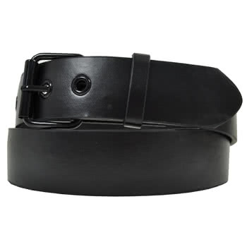 Blue Banana Buckle Change Belt (Black)