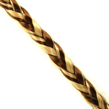 Blue Banana Thin Hair Braid (Brown/Blonde)
