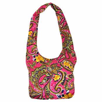 Blue Banana Large Handbag (Pink)
