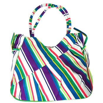 Blue Banana Festival Bag (Multi-Coloured)