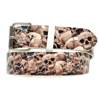 Blue Banana Skulls Belt