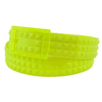 Blue Banana UV Studded Smell Belt (Yellow)