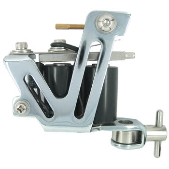 Body Shock Tattoo Machine Style 15 (Chrome)
