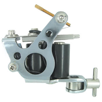 Body Shock Tattoo Machine Style 19 (Chrome)