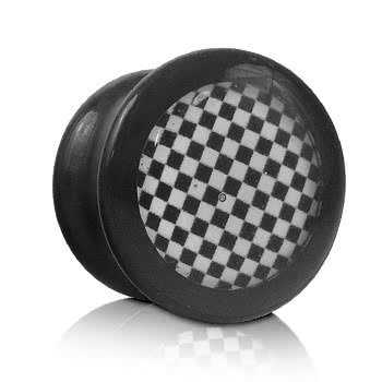 Ikon Chess Board Plug (Black/White)