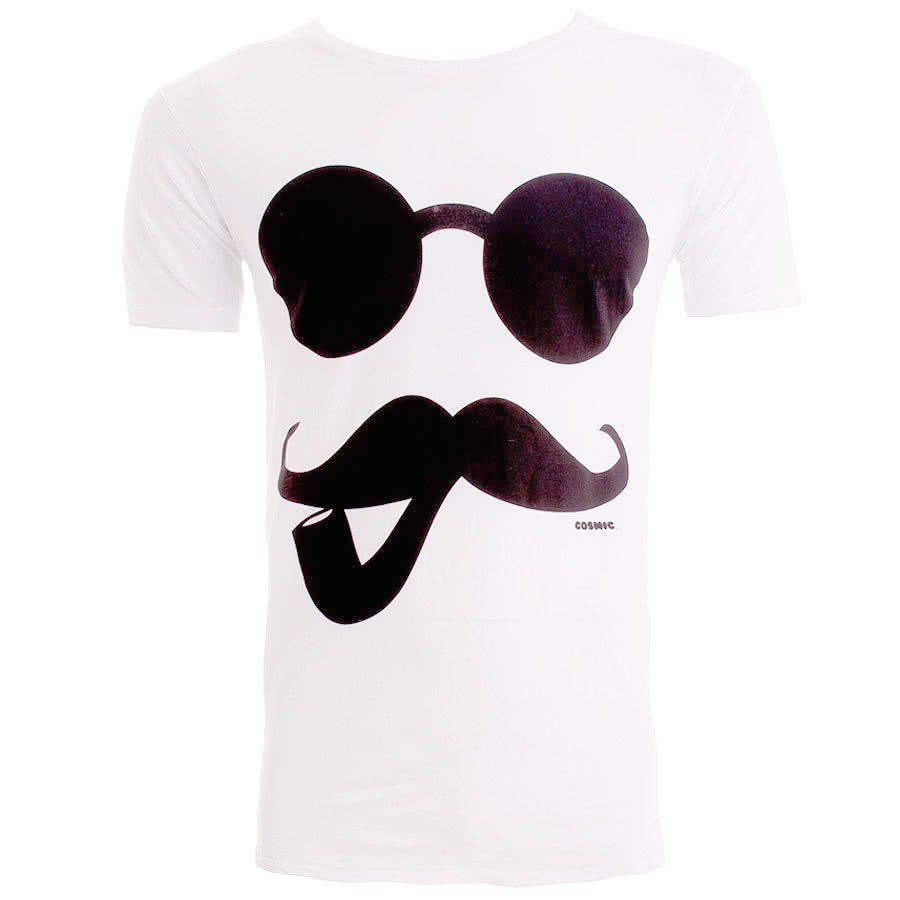 Cosmic Pipe And Tash T Shirt (White)
