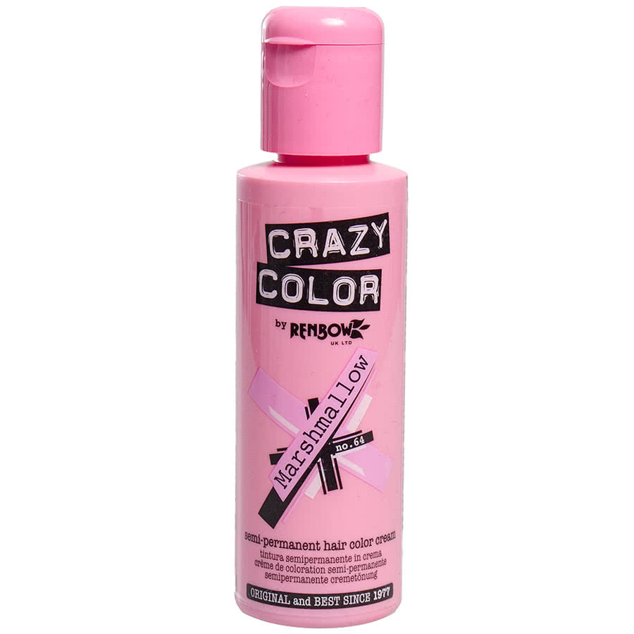 Crazy Colour Marshmallow Semi-Permanent Hair Dye