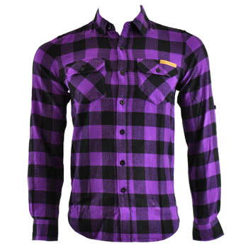 Criminal Damage Jack Shirt (Purple)