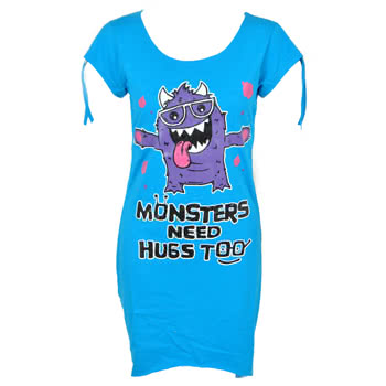 Cupcake Cult Hugs Top (Blue)