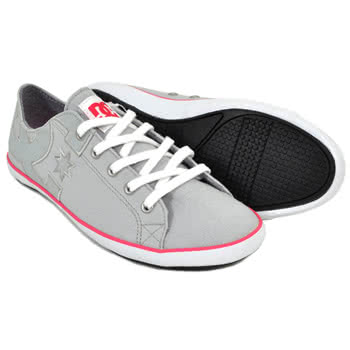 DC Cleo Shoes (Grey/Pink)