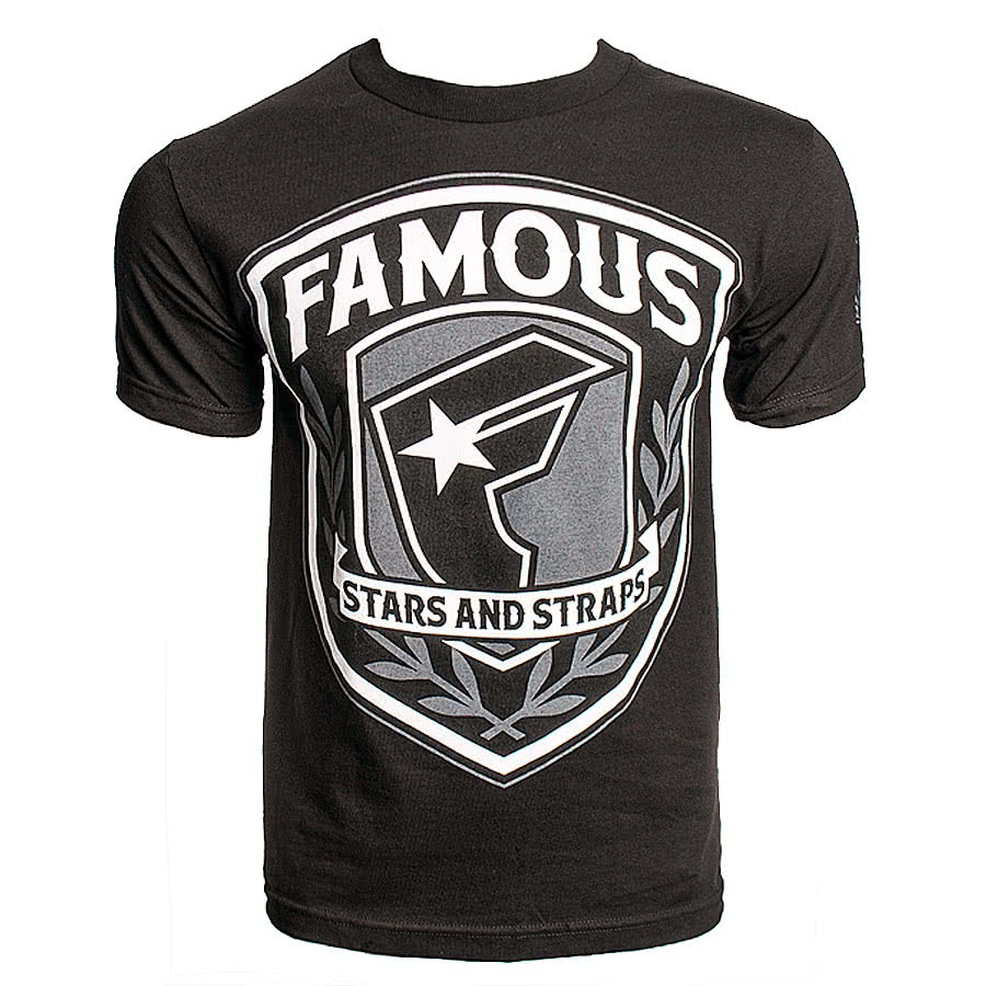 Famous Stars and Straps Beretta T Shirt (Black)
