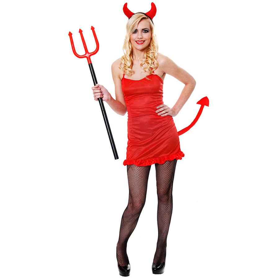 halloween red sexy devil fancy dress costume 58969 Sexy dominican women