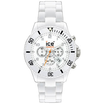 Ice Watch Chrono White Watch (Large)