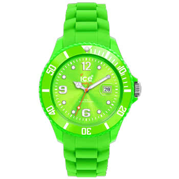 Ice Watch Silicon Green Watch (Large)