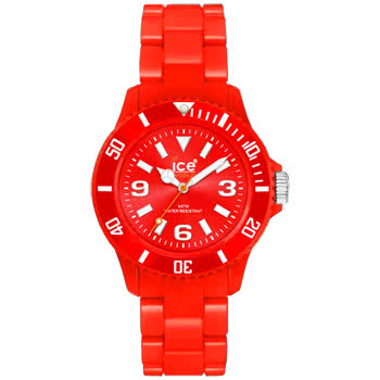 Ice Watch Classic Solid Red Watch (Unisex)