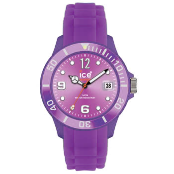 Ice Watch Silicon Purple Watch (Small)