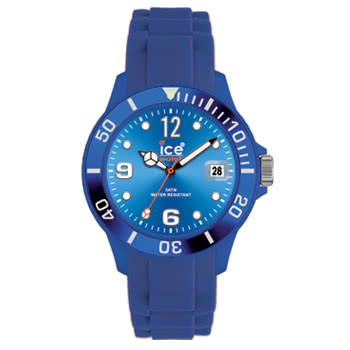 Ice Watch Silicon Blue Watch (Unisex)