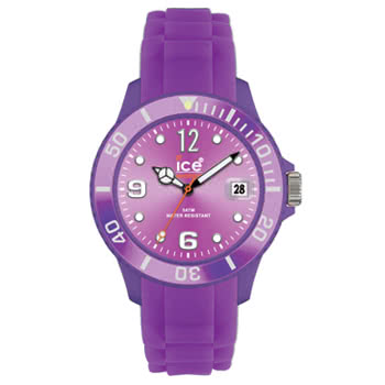 Ice Watch Silicon Purple Watch (Unisex)