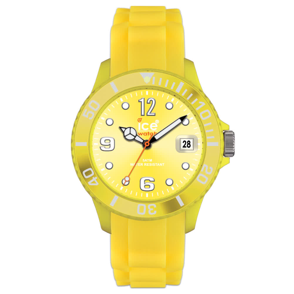 Ice Watch Silicon Yellow Watch (Unisex)
