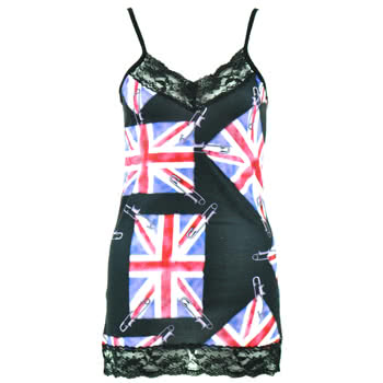 Insanity Union Jack Fade Vest (Multi-Coloured)
