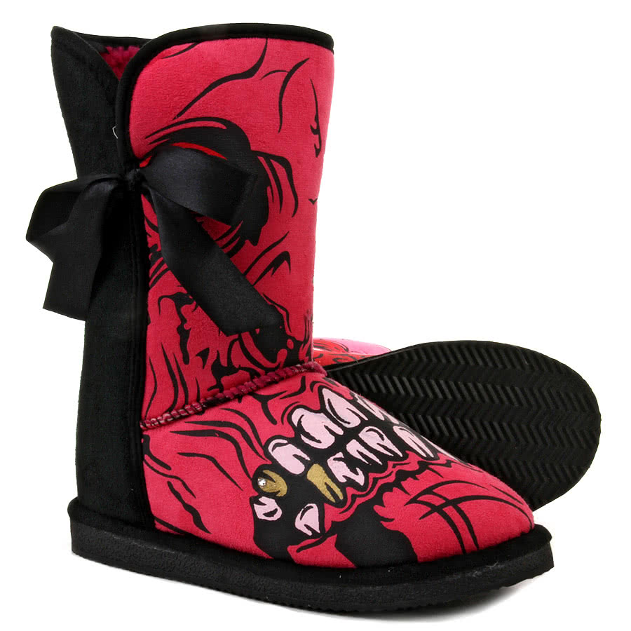Iron Fist Gold Digger Boots (Pink)