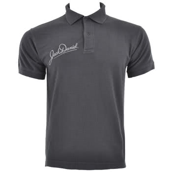 Jack Daniels Old No7 Polo Shirt (Grey)