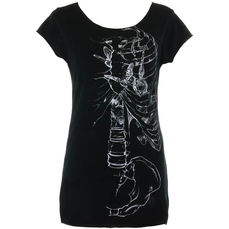Jawbreaker Wishbone Top (Black)