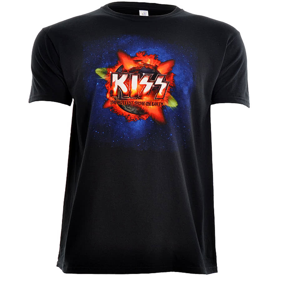 KISS The Hottest Show T Shirt (Black)