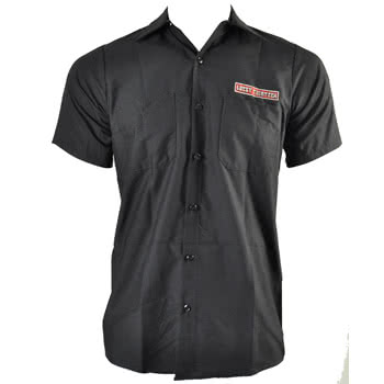 Lucky 13 Old Speed Print Shirt (Charcoal)