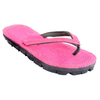 Maasai Treads Ladies Flip Flops (Pink)
