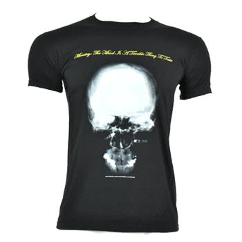Ministry Mind Is A Terrible Thing To Taste T Shirt (Black)