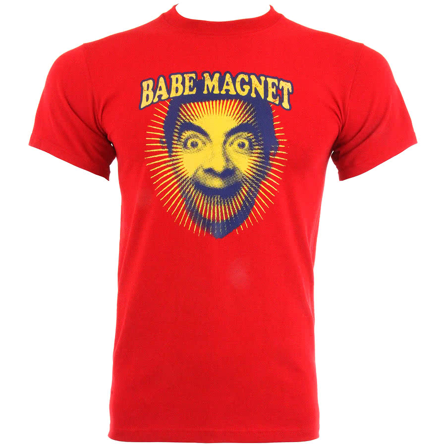 Mr Bean Babe Magnet T Shirt (Red)