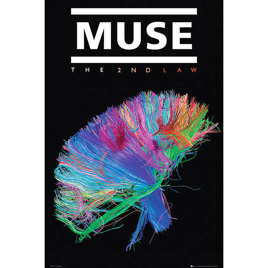 Muse 2nd Law Poster