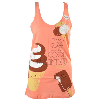Newbreed Girl Cool Friends Vest (Pink)