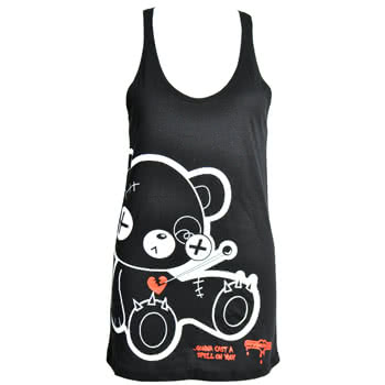 Newbreed Girl Evil Friend Vest (Black)